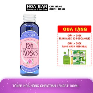 [Có Bill] Toner Hoa Hồng Christian Lenart 100ml