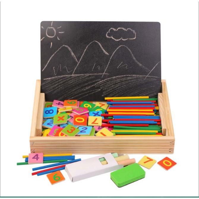 Bảng tính 2 mặt đa năng giúp bé học toán