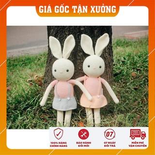 [Xả Hàng] Set thỏ váy – Đồ chơi dễ thương cho bé – Toys made by The Bunny