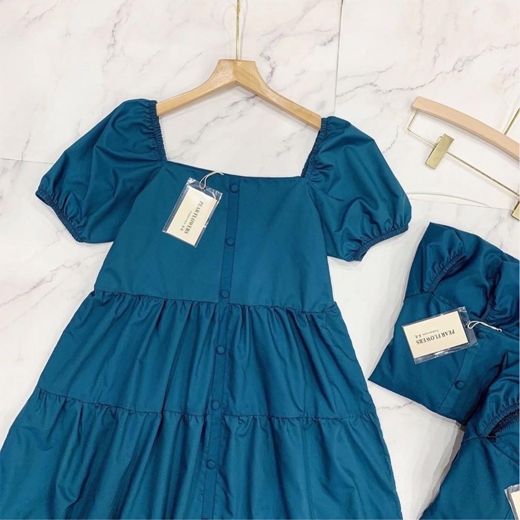 Mặc gì đẹp: Dễ chịu với Đầm Bầu Váy Bầu Trễ Vai Cổ Vuông Dáng Dài Đi Tiệc Thu Đông Sang Chảnh HD2614 Honey Mommy
