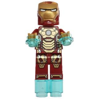 Minifigure LEGO – Nhân vật Người Sắt Iron Man – Mark 42 – Extremis – Prodigal Son
