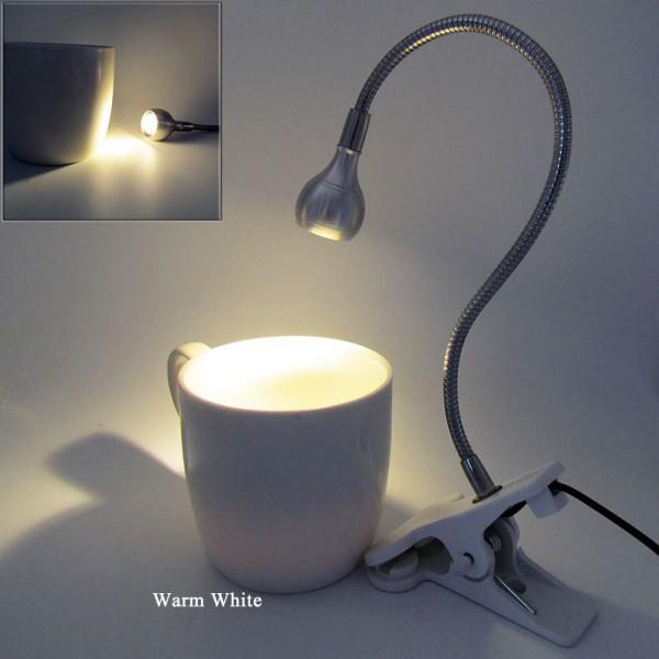 Đèn LED để bàn dạng cổ ngỗng có thể điều chỉnh 5V 3W kết nối USB