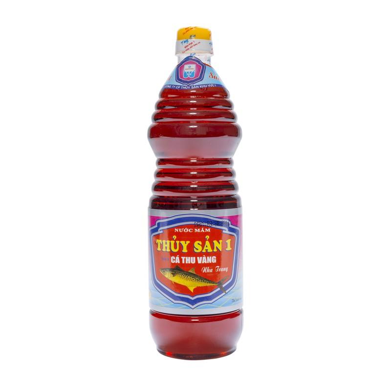 Nước mắm Cá Thu Vàng Nha Trang - Thủy Sản Khu Vực 1 chai 1L