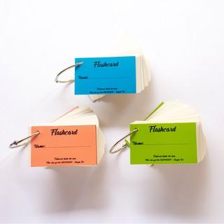 Flashcard thẻ học từ vựng tiếng anh nhật hàn trung cao cấp 100 thẻ
