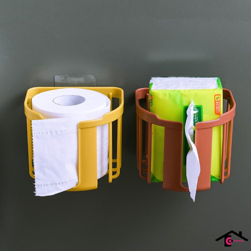 Hộp đựng cuộn giấy vệ sinh dán tường tiện lợi mã VS4
