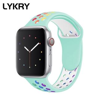 Dây Đeo Thay Thế LYKRY Thời Trang Cho Apple Watch Iwatch 5 4 3 2 1 2020