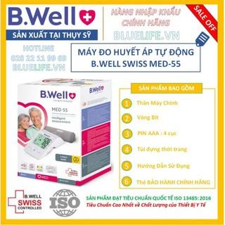 Máy đo huyết áp B.Well Med 55 chính hãng Thụy Sỹ – Bảo hành 5 năm