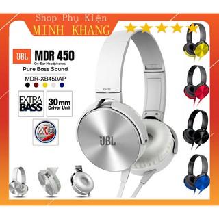 [Deal Hot] Tai Nghe Chụp Tai JBL XB450 Jack 3.5mm Âm Chuẩn - Bass Cực Mạnh - Đệm Tai Êm Ái - Bảo Hành Đổi Mới