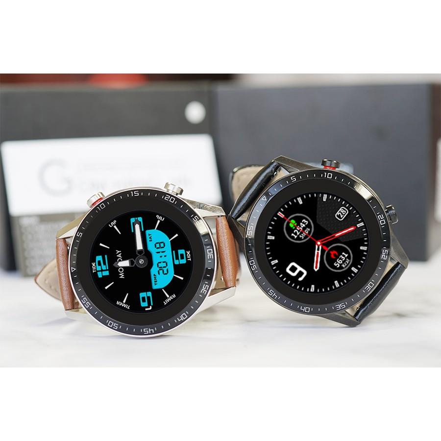 Đồng hồ thông minh nam 💖 FREESHIP 💖 Giảm 15k Đồng hồ nhập [DONG15K] 💖 Smartwatch thể thao chống nước IP68