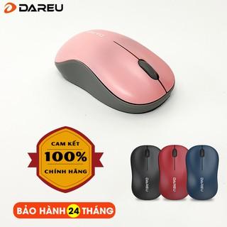 [Chính hãng] Chuột không dây DAREU LM106G – 4 màu Pink/Blue/Red/Black – BH 24 Tháng