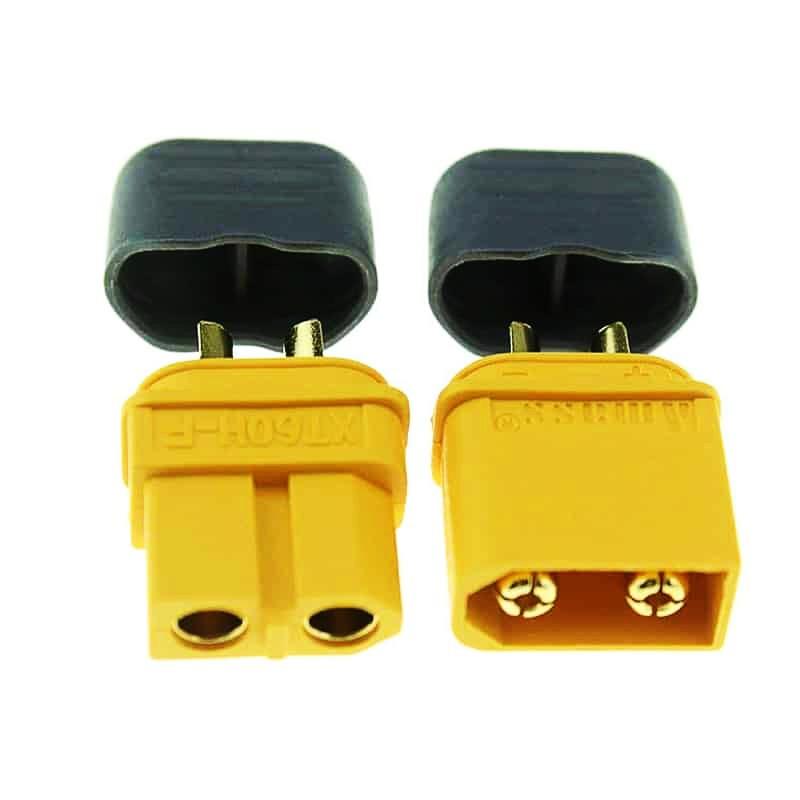 (SG) - Jack cắm XT60 loại chuẩn như Amass có nắp chụp bảo vệ kết nối PDB / ESC / Pin Lipo