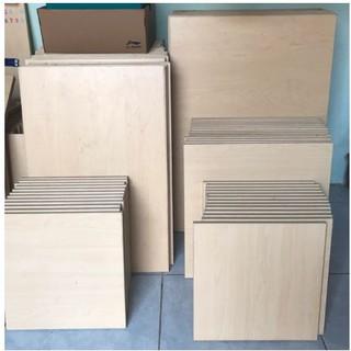 Tấm gỗ làm bảng busy board, bảng bận rộn gỗ ép cao cấp nhiều kích thước