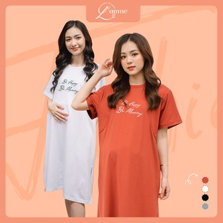Váy bầu đẹp Mommy Dress có chỗ cho bé tuti thấm hút mồ hôi tốt thiết kế bởi LAMME thumbnail
