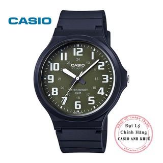 Đồng hồ Nam Casio MW-240-3BVDF dây nhựa