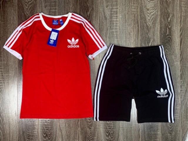 Bộ thể thao nam A di dat 3 sọc - Set quần áo thể thao nam