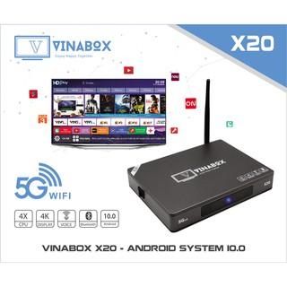 VINABOX X20 – ANDROID 10.0 – Chính Hãng - Bảo Hành 12 Tháng.