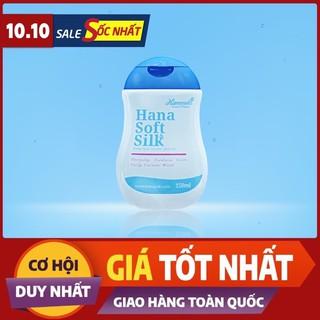 Dung dịch vệ sinh phụ nữ Hana Soft Silk chính hãng thumbnail