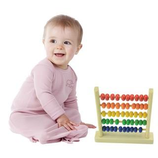 Đồ chơi bàn tính bằng gỗ dễ thương cho bé