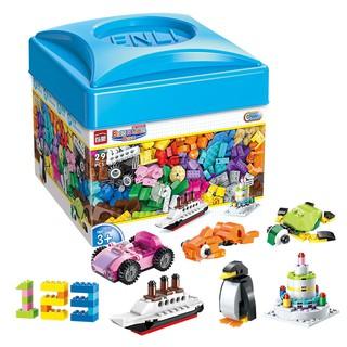Bộ lego 460 chi tiết cao cấp, chất liệu an toàn – Cho bé thỏa sức sáng tạo