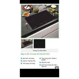 Bếp từ Đôi GH 8G-02IH DFC Thanh lý giá rẻ