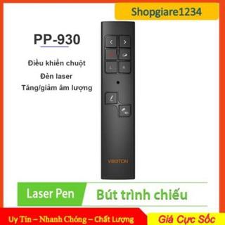 Bút Trình Chiếu Viboton PP-930 Kiêm Chuột Bay- Điều chỉnh âm thanh, Đèn Laser – Hàng Chính Hãng, Full Box – BH 06 T