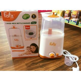 Máy hâm và tiệt trùng bình sữa đa năng 2 bình cổ rộng Fatzbaby THẾ HỆ MỚI FB3012SL, BẢO HÀNH 12 THÁNG thumbnail