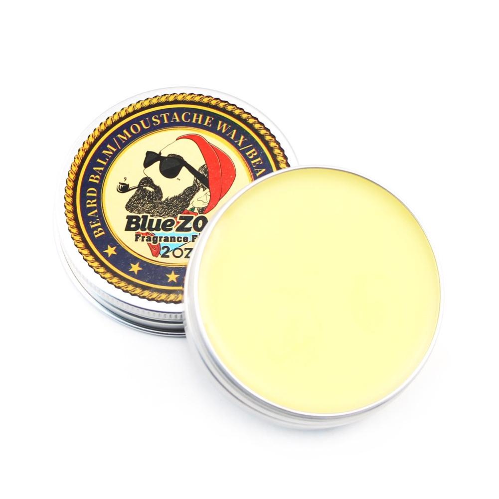 Beard Care Softener Natural Balm Mustache Wax Moisturizing Thicker Fragrant Men