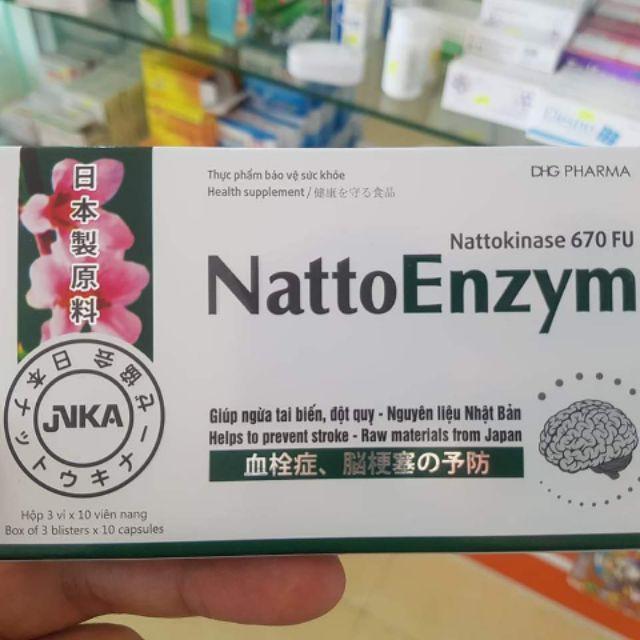 NattoEnzym DHG - Phòng ngừa tai biến, đột quỵ