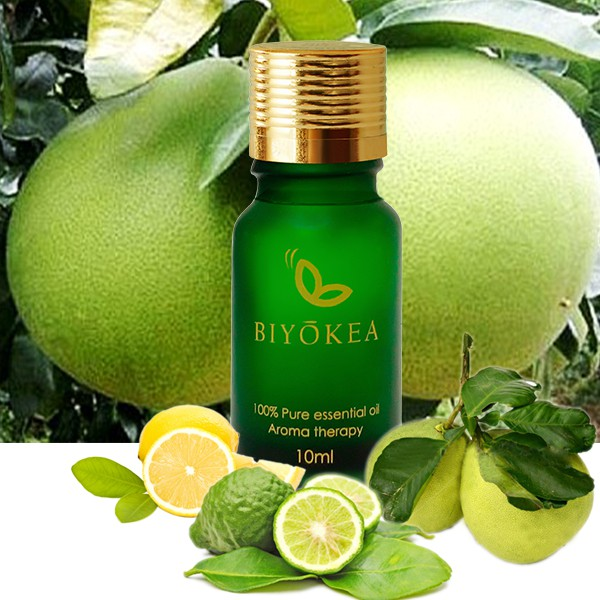 Tinh dầu Hỗn hợp 6 Tinh dầu cam hương, chanh, vỏ bưởi: giúp tinh thần sảng khoái, minh mẫn hơn, giảm stress