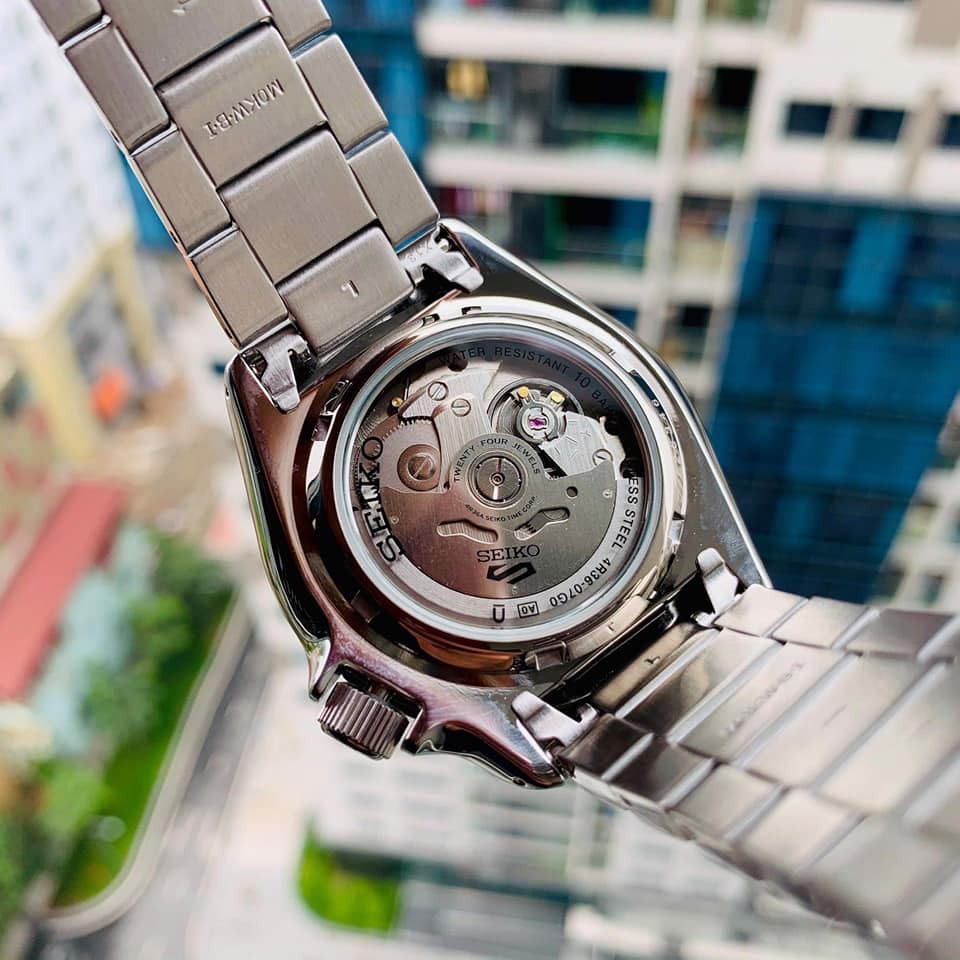 Đồng hồ nam Seiko 5 Sport Green SRPD63K1  chính hãng