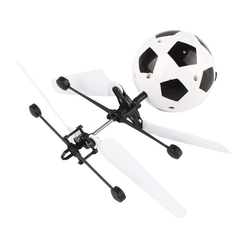 Children Flying RC Ball Led Flashing Light Aircraft Helicopter Induction Toy