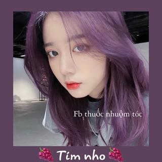 [KHÔNG TẨY] Thuốc nhuộm tóc Hàn Quốc màu Tím Nho thumbnail