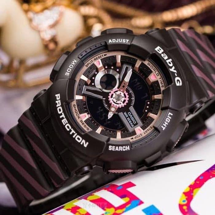 Đồng hồ Nữ Baby-G Casio dây nhựa điện tử BA-110CH-1ADR - Chính hãng Casio Anh Khuê