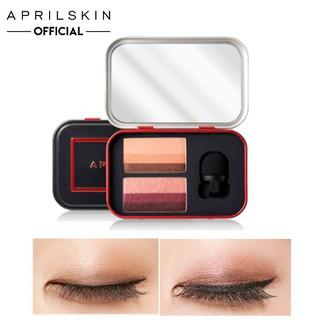 Bảng Phấn Mắt Aprilskin Perfect Magic Dual Eyeshadow Pure & Chic 6g thumbnail