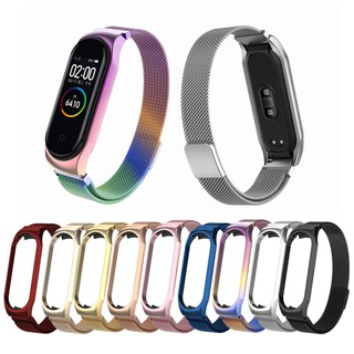 Xiaomi Mi Band 4 Magnetic Stainless Steel Strap for Xiaomi mi band 3 Bracelet Bracelet Milan metal strap for miband 3 4 thumbnail