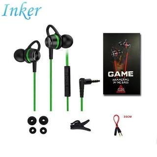 Tai nghe chơi game có dây G26 chống ồn thiết kế nhỏ gọn cho điện thoại/máy tính