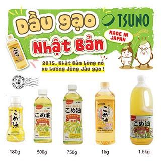 """Kết quả hình ảnh cho Dầu gạo cao cấp Tsuno Nhật Bản 1500gr"""""""