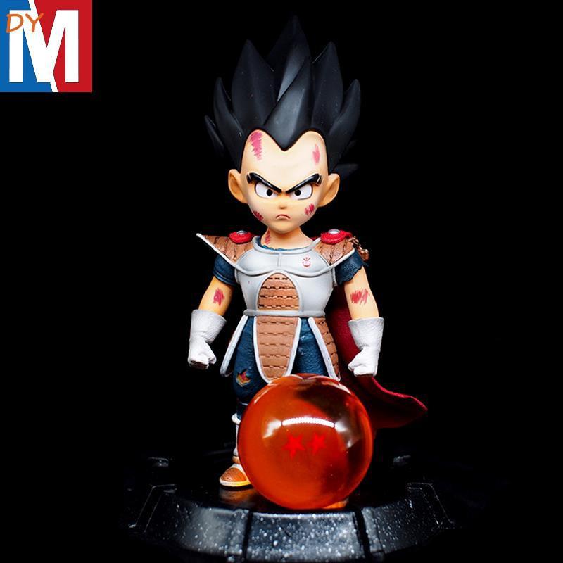 YD quality version of the Dragon Ball GK Vegeta Saiyan children's childhood hand model statue car ornaments gifts