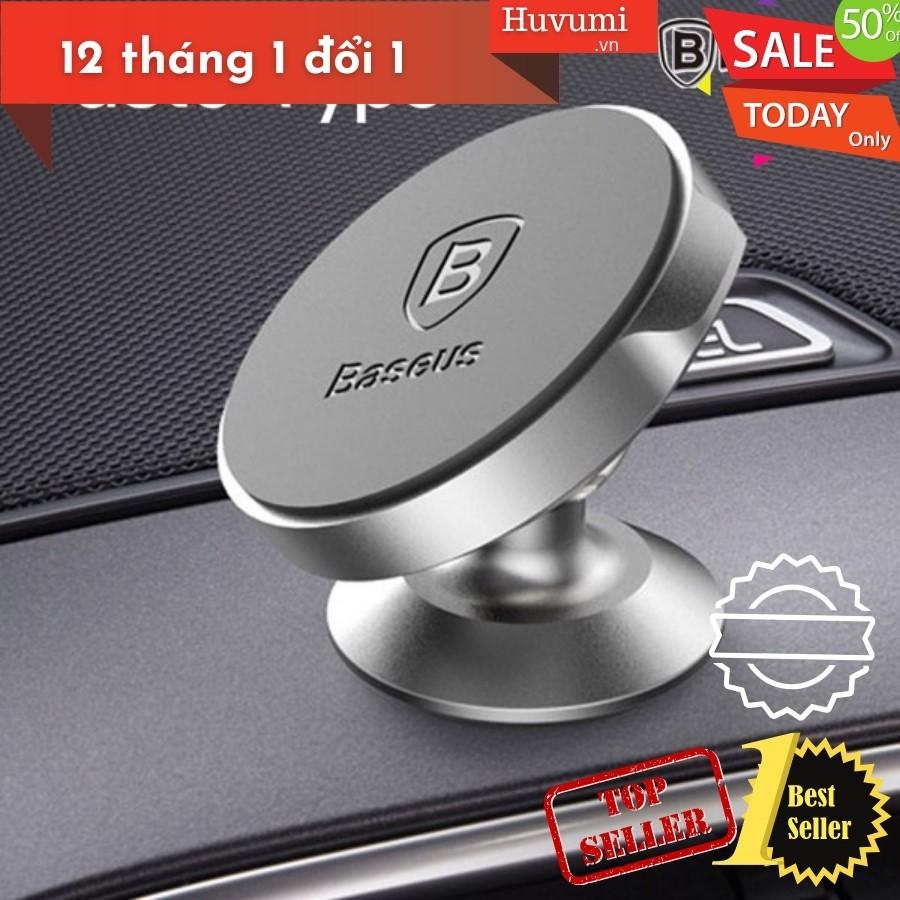 Bộ đế giữ điện thoại nam châm Baseus LV186 dùng cho xe hơi (Magnetic Car Paste Type Mount/ Holder) LV186