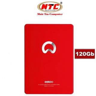 Ổ cứng SSD EEKOO 120GB SATA III 2.5-inch R520MB s W400Mb s - Vỏ kim loại (Đỏ) thumbnail