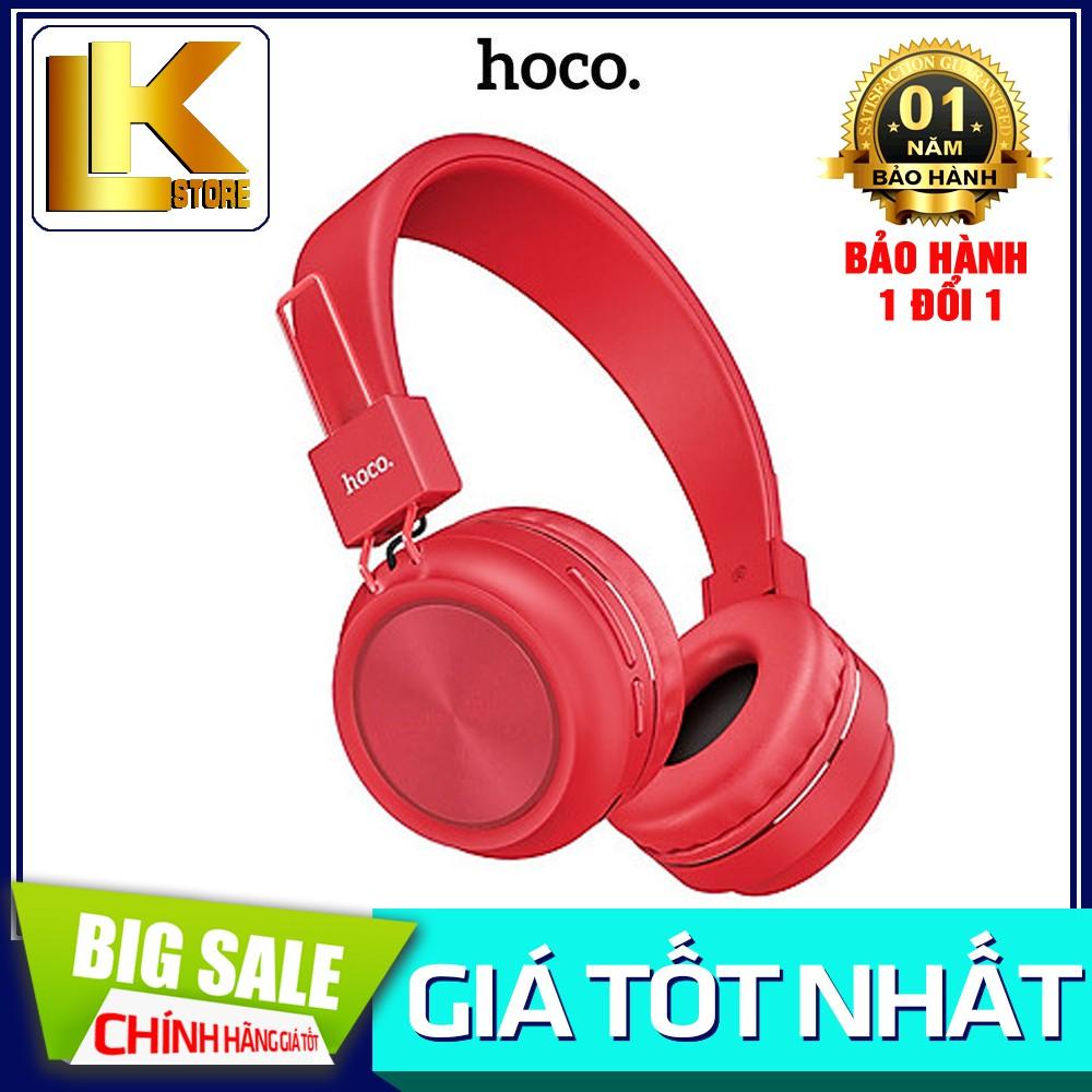 🌟CHÍNH HÃNG🌟Tai nghe Bluetooth chụp tai Hoco W25 có micro thời lượng { BẢO HÀNH ĐỔI MỚI}