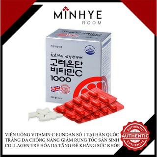 Viên Uống Vitamin C Eundan Số 1 Tại Hàn Quốc Trắng Da Chống Nắng Giảm Rụng Tóc Sản Sinh Collagen Trẻ Hóa Da thumbnail