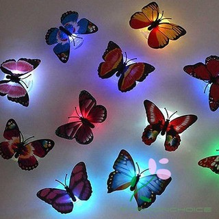 Lamp Wedding Christmas Gift Pretty LED Butterfly Night Light Home Decoration