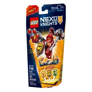 (Chính hãng) Mô Hình LEGO Nexo Knights – Hiệp Sĩ Macy 70331 (101 Mảnh Ghép)