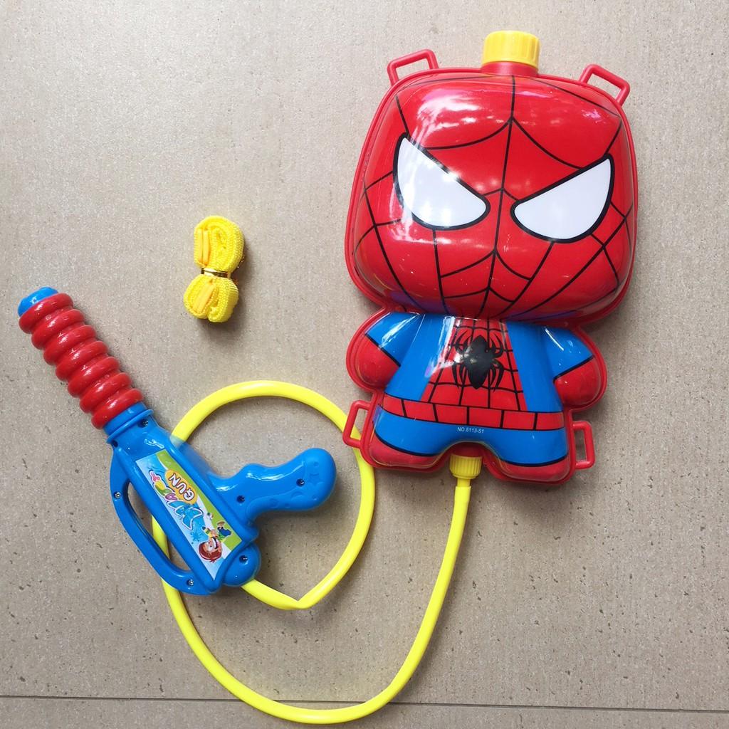 Súng phun nước kèm ba lô đựng nước Người nhện - 3085424 , 1274141487 , 322_1274141487 , 89000 , Sung-phun-nuoc-kem-ba-lo-dung-nuoc-Nguoi-nhen-322_1274141487 , shopee.vn , Súng phun nước kèm ba lô đựng nước Người nhện