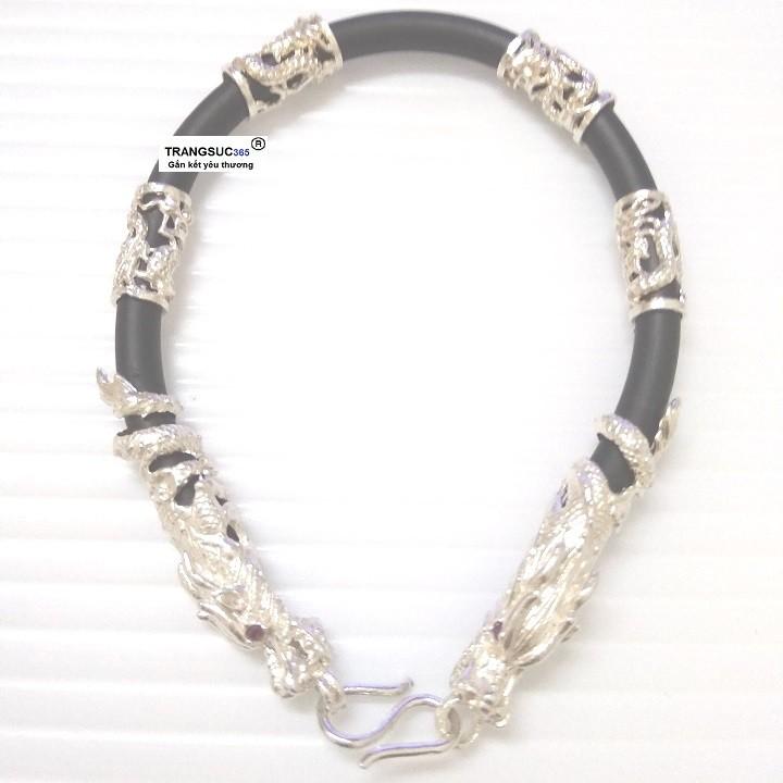 Lắc tay nam bạc ts365-la024, vòng tay nam bạc ts365-la024