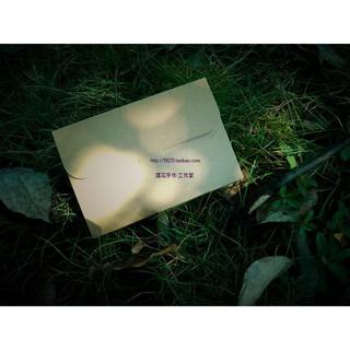 hộp bưu thiếp bằng da bò