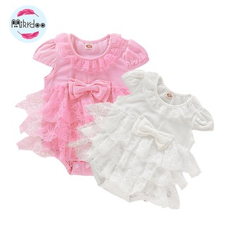 Đầm Mikrdoo có quần trong đáng yêu cho bé mới sinh