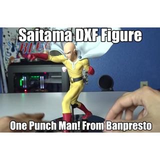 Mô hình One Punch Man chính hãng DXF Saitama tung cú đấm nghiêm túc (hàng hiếm, like new full box)