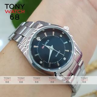 Đồng hồ nữ Arlanch dây kim loại mặt nhỏ siêu đẹp chống nước chính hãng Winsley thumbnail